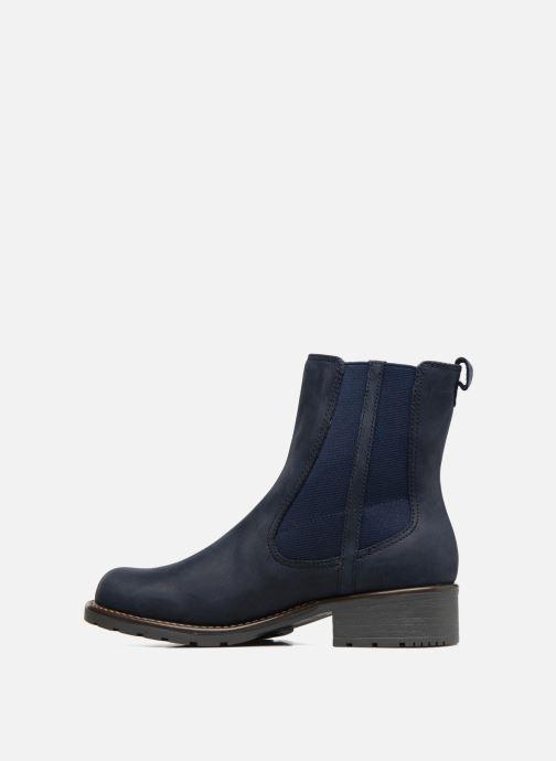 Stiefeletten & Boots Clarks Orinoco Club blau ansicht von vorne
