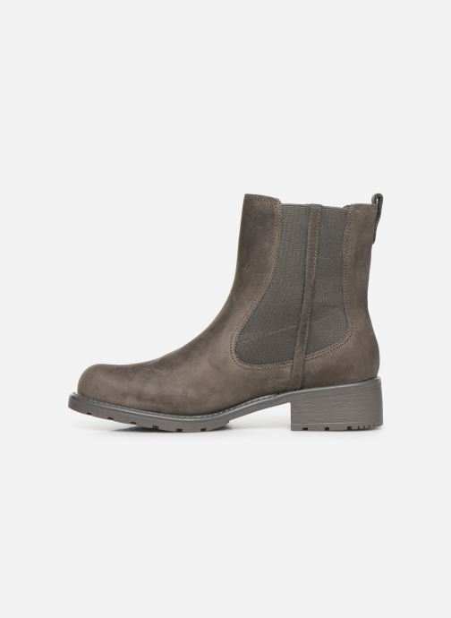 Boots en enkellaarsjes Clarks Orinoco Club Grijs voorkant