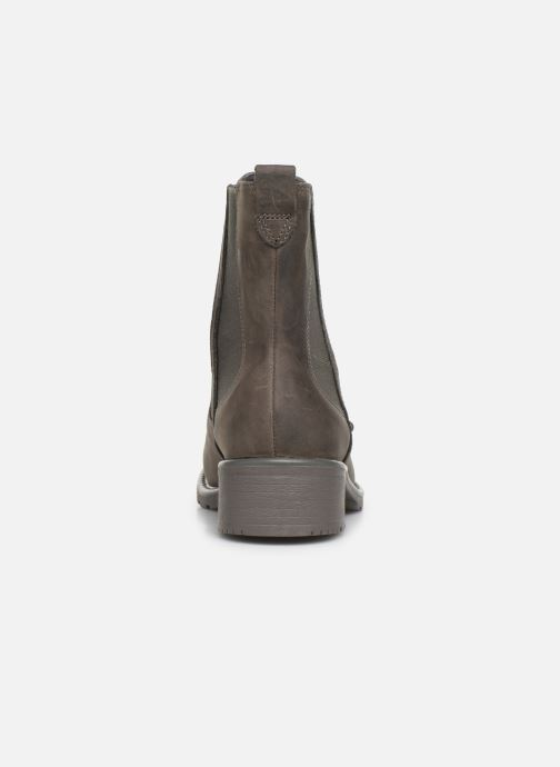 Ankle boots Clarks Orinoco Club Grey view from the right