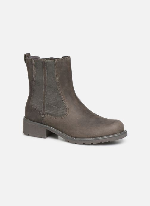 Ankle boots Clarks Orinoco Club Grey detailed view/ Pair view