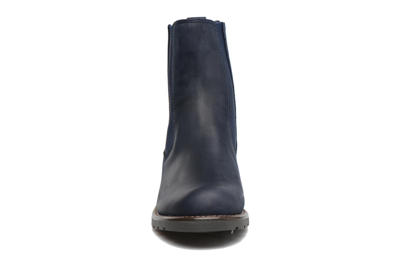 Bottines et boots Clarks Orinoco Club Bleu vue portées chaussures
