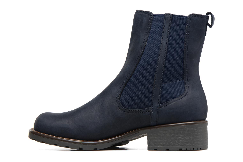 Bottines et boots Clarks Orinoco Club Bleu vue face