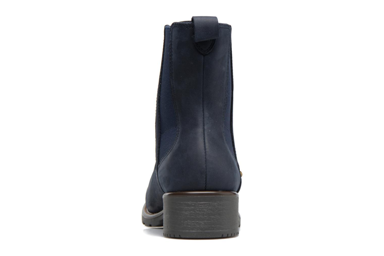 Bottines et boots Clarks Orinoco Club Bleu vue droite