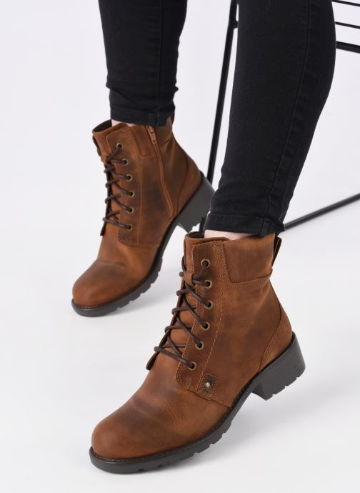 Boots en enkellaarsjes Clarks Orinoco Spice Bruin onder