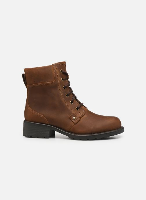 Boots en enkellaarsjes Clarks Orinoco Spice Bruin achterkant