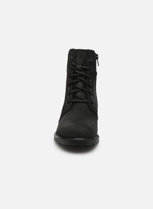 Bottines et boots Clarks Orinoco Spice Noir vue portées chaussures