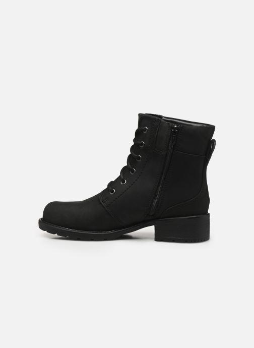 Bottines et boots Clarks Orinoco Spice Noir vue face