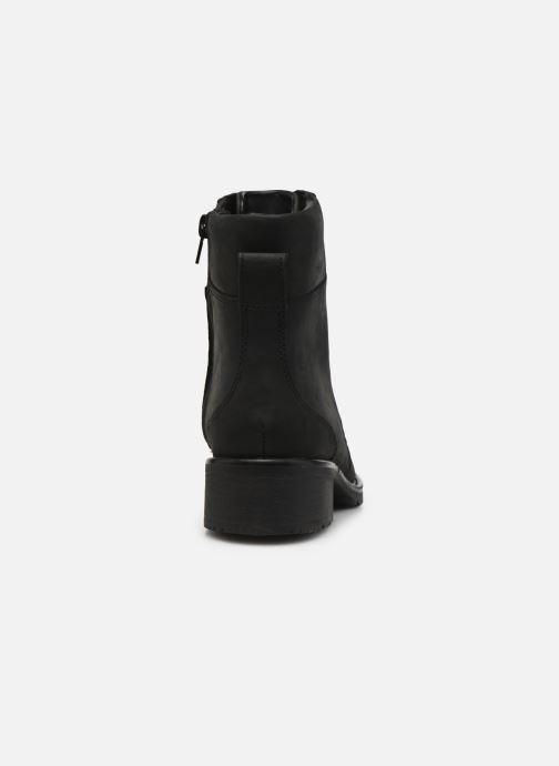 Ankle boots Clarks Orinoco Spice Black view from the right