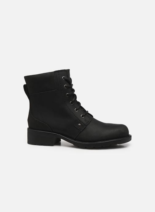 Ankle boots Clarks Orinoco Spice Black back view