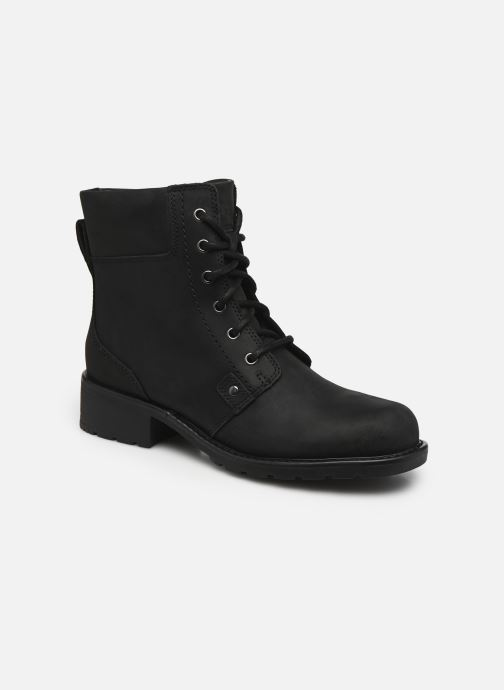 Ankle boots Clarks Orinoco Spice Black detailed view/ Pair view