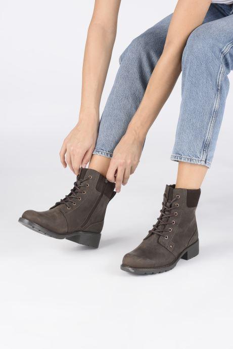 Stiefeletten & Boots Clarks Orinoco Spice braun ansicht von unten / tasche getragen