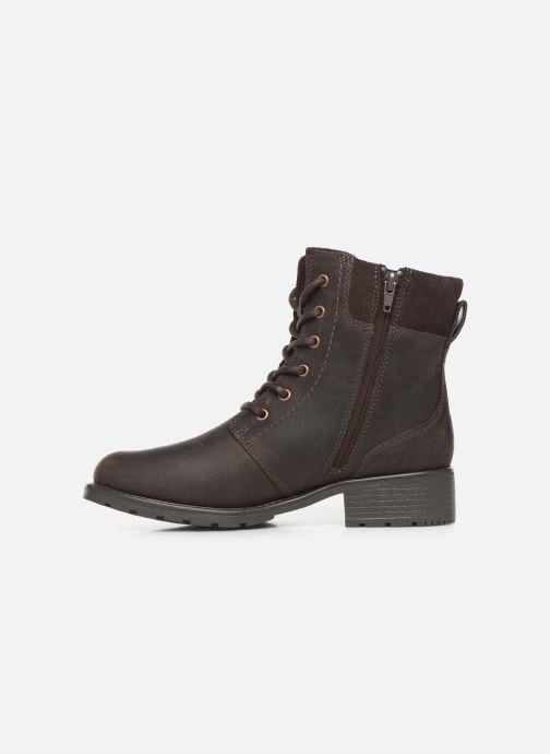 Stiefeletten & Boots Clarks Orinoco Spice braun ansicht von vorne
