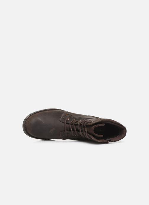 Stiefeletten & Boots Clarks Orinoco Spice braun ansicht von links