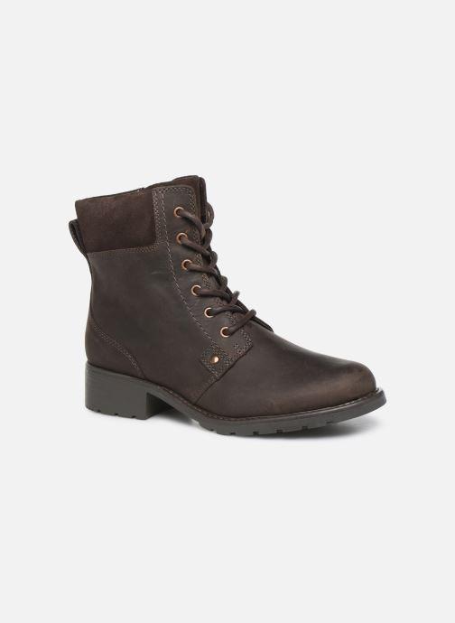 Stiefeletten & Boots Clarks Orinoco Spice braun detaillierte ansicht/modell