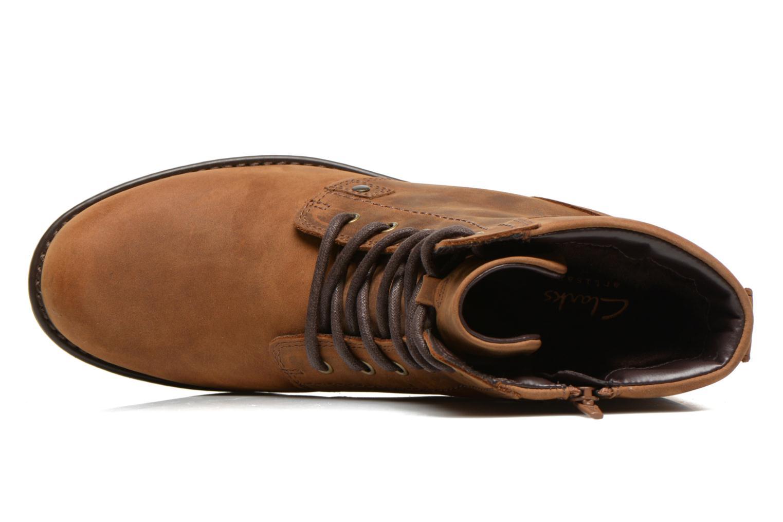Boots en enkellaarsjes Clarks Orinoco Spice Bruin links
