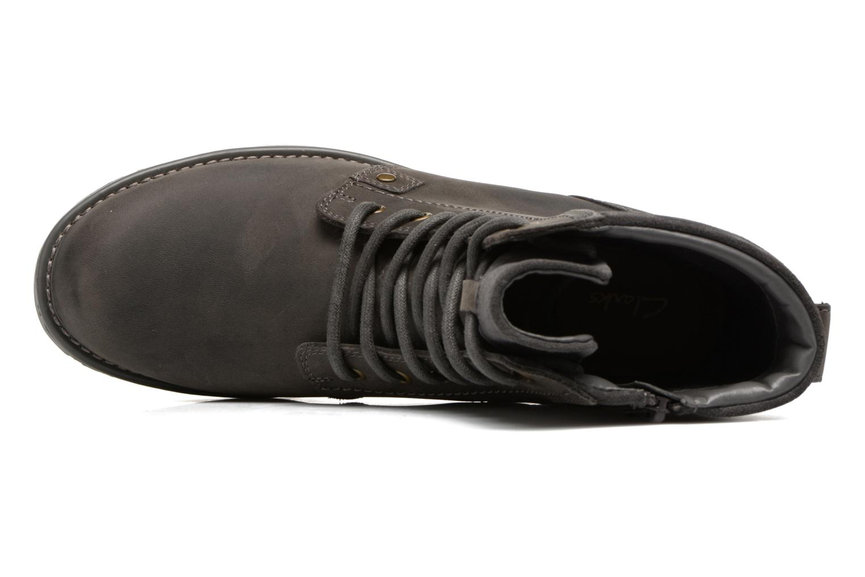 Bottines et boots Clarks Orinoco Spice Gris vue gauche