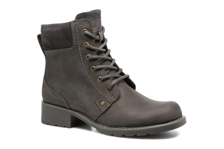 Bottines et boots Clarks Orinoco Spice Gris vue détail/paire