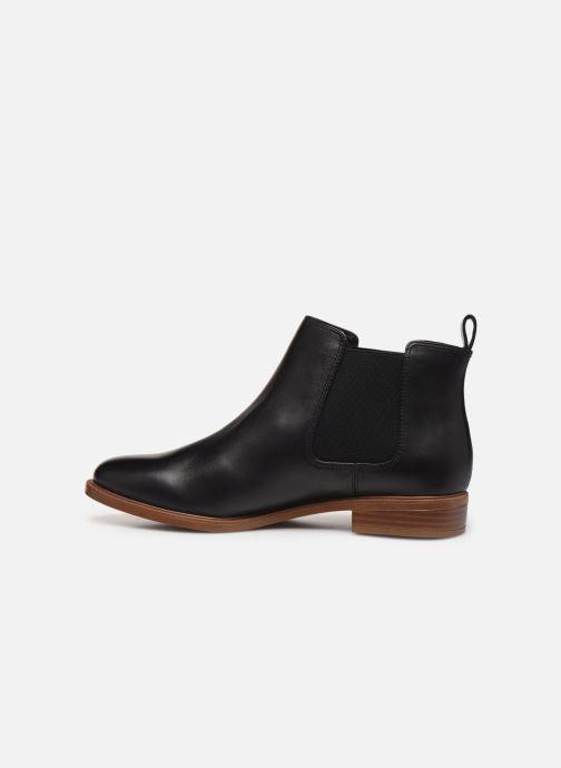 Boots en enkellaarsjes Clarks Taylor Shine Zwart voorkant
