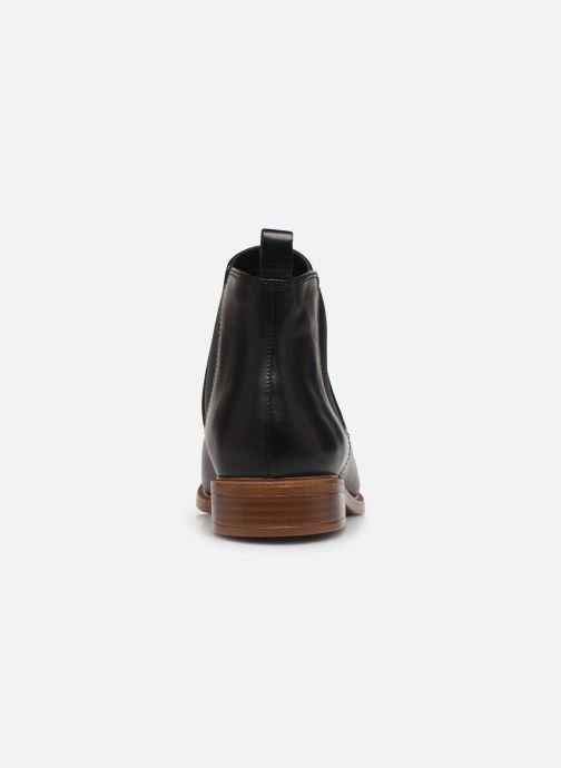 Bottines et boots Clarks Taylor Shine Noir vue droite
