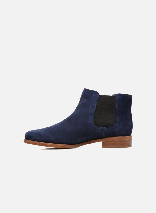 Ankle boots Clarks Taylor Shine Blue front view