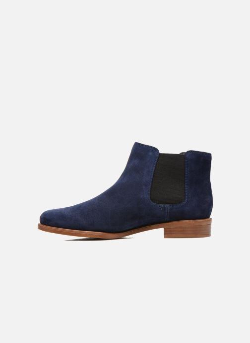 Bottines et boots Clarks Taylor Shine Bleu vue face
