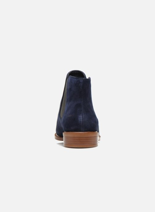 Ankle boots Clarks Taylor Shine Blue view from the right
