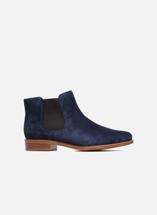 Ankle boots Clarks Taylor Shine Blue back view