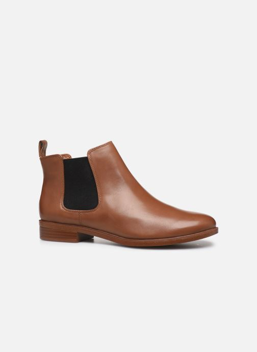 Boots en enkellaarsjes Clarks Taylor Shine Bruin achterkant