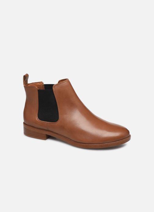 Ankelstøvler Clarks Taylor Shine Brun detaljeret billede af skoene