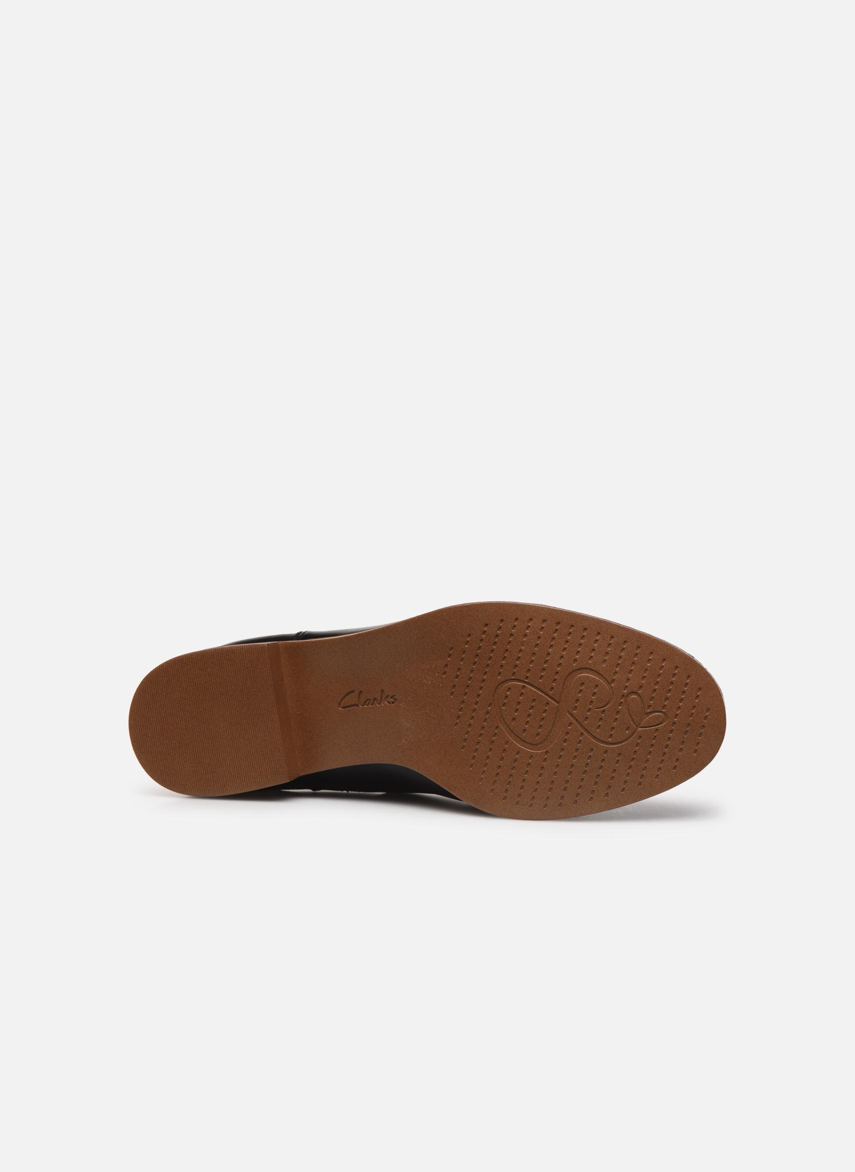Bottines et boots Clarks Taylor Shine Noir vue haut