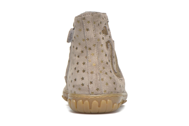 Bottines et boots Pom d Api Cute boots cat mini star Beige vue droite