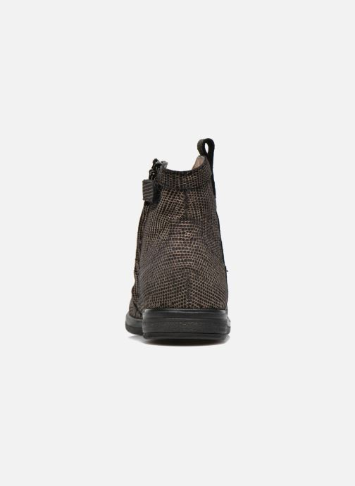 Stivaletti e tronchetti Pom d Api Hobo boots sivar Oro e bronzo immagine destra