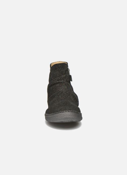 Boots en enkellaarsjes Pom d Api New school pleats golden Zwart model