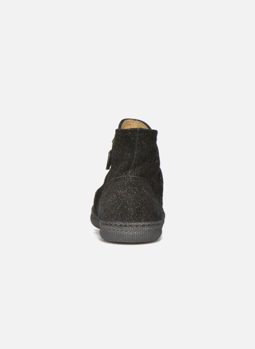 Boots en enkellaarsjes Pom d Api New school pleats golden Zwart rechts