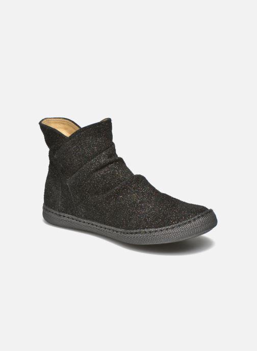 Boots en enkellaarsjes Pom d Api New school pleats golden Zwart detail