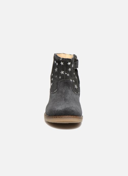 Stivaletti e tronchetti Pom d Api Trip boots print star Azzurro modello indossato