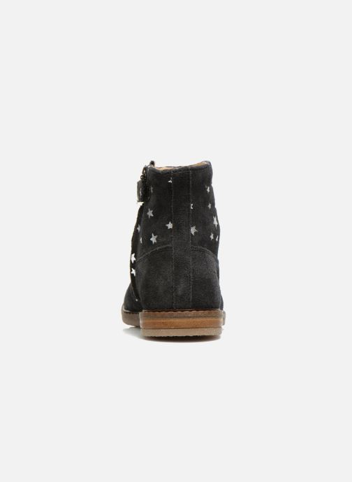 Ankle boots Pom d Api Trip boots print star Blue view from the right