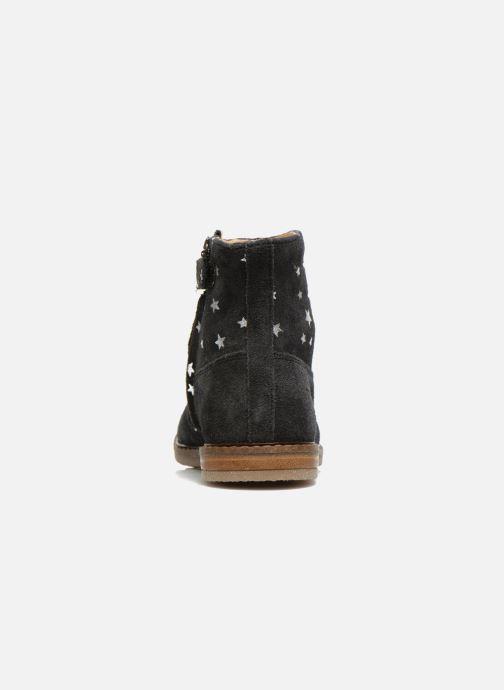 Bottines et boots Pom d Api Trip boots print star Bleu vue droite