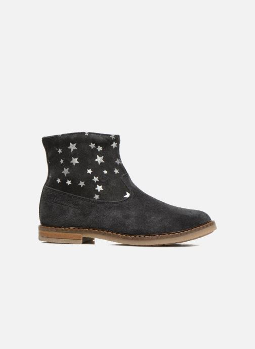 Ankle boots Pom d Api Trip boots print star Blue back view