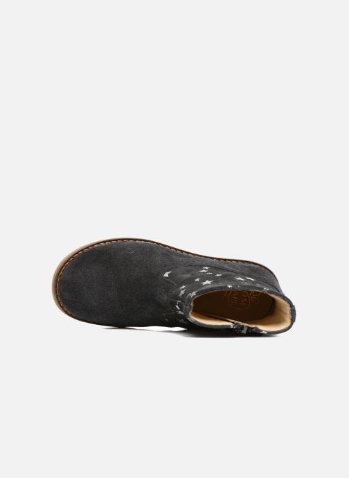 Stiefeletten & Boots Pom d Api Trip boots print star blau ansicht von links
