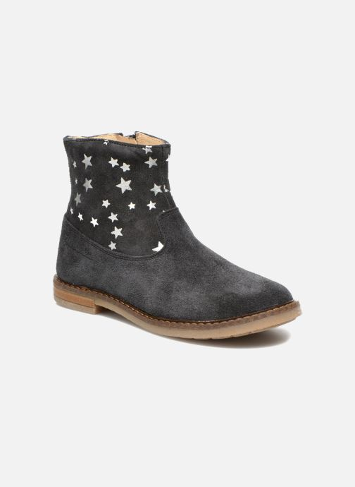 Ankle boots Pom d Api Trip boots print star Blue detailed view/ Pair view