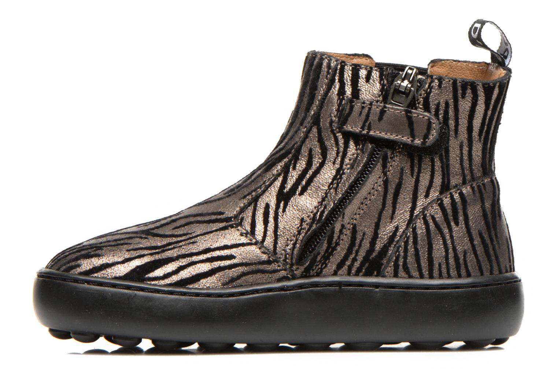 Bottines et boots Pom d Api Walk jodpur basic fixell Noir vue face