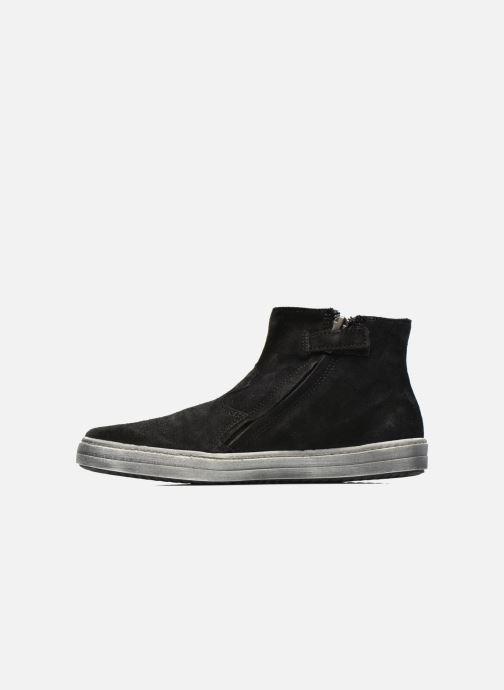 Ankle boots Shwik ADDICT ZIP WEST Black front view