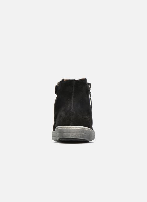 Ankle boots Shwik ADDICT ZIP WEST Black view from the right