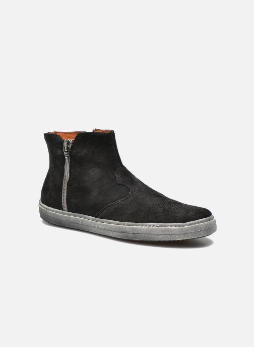 Ankelstøvler Shwik ADDICT ZIP WEST Sort detaljeret billede af skoene