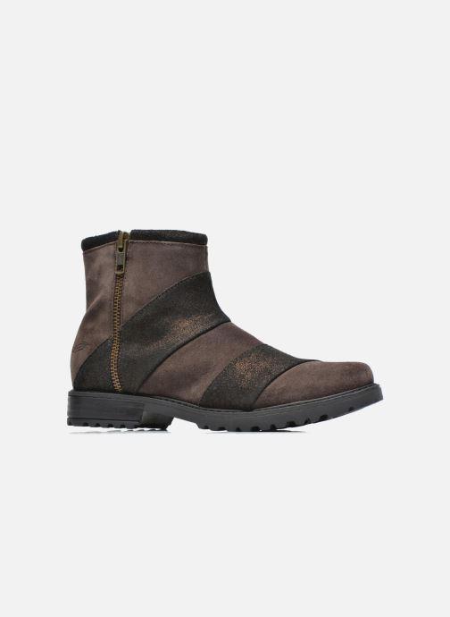 Bottines et boots Shwik STAMPA BACK ZIP Marron vue derrière