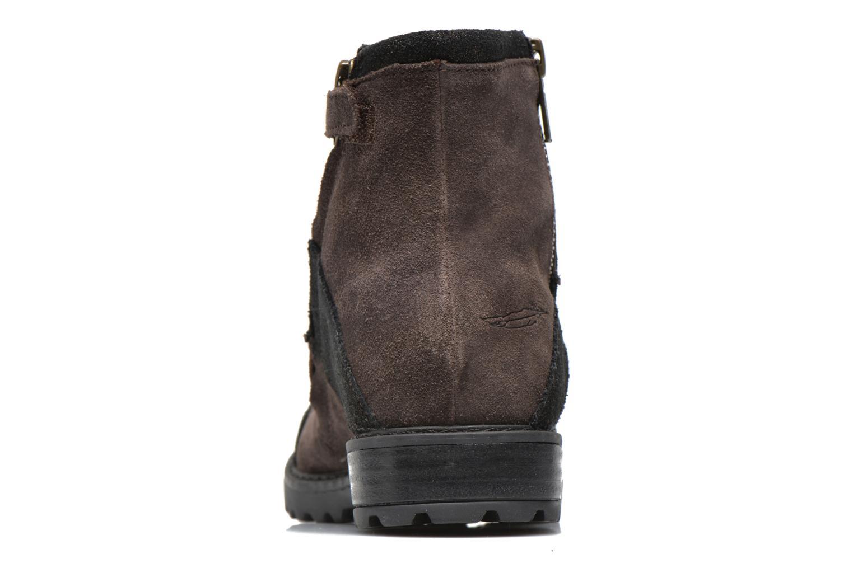 Boots en enkellaarsjes Shwik STAMPA BACK ZIP Bruin rechts