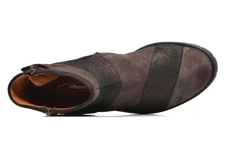 Boots en enkellaarsjes Shwik STAMPA BACK ZIP Bruin links