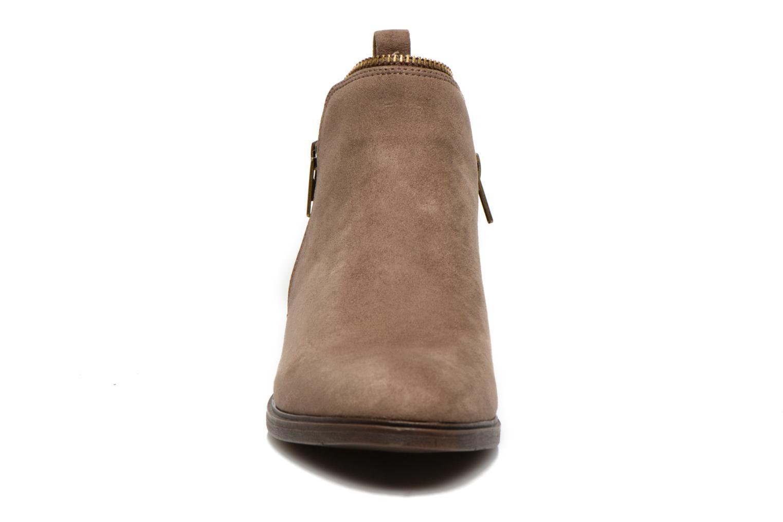 Botines  I Love Shoes Thazip Size + Marrón vista del modelo