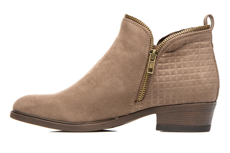 Botines  I Love Shoes Thazip Size + Marrón vista de frente